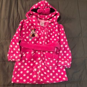 Girls Mickey Mouse Robe